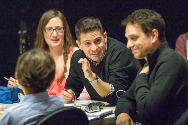 Charles Messina with Deidre Works, Nico Bustamante, Ralph Macchio