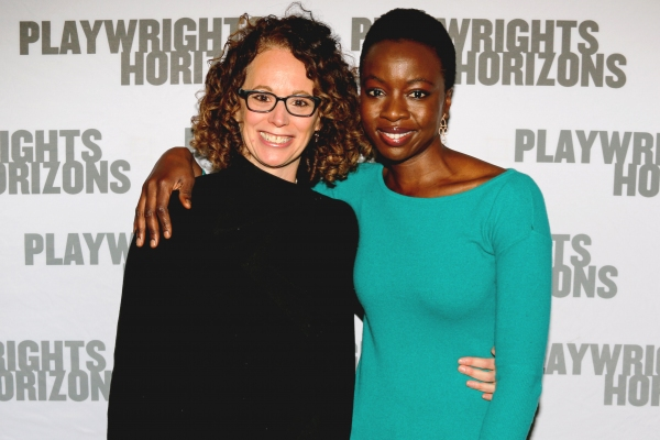 Director Rebecca Taichman and Danai Gurira