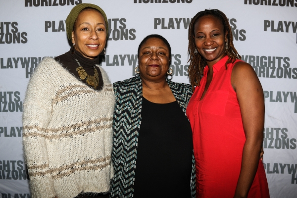 Photo Flash: In Rehearsal with Danai Gurira, Tamara Tunie and More for FAMILIAR at Playwrights Horizons