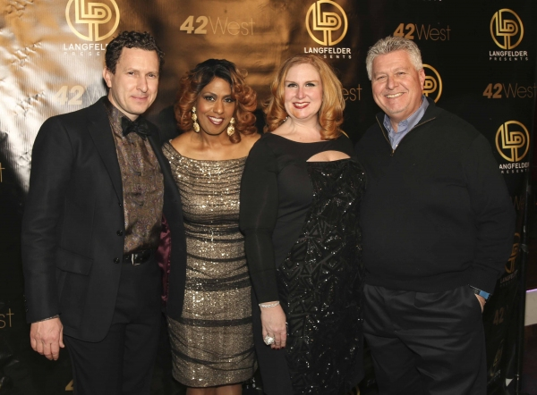 Jacob Langfelder, Jennifer Holliday, Julie James and John Langfelder