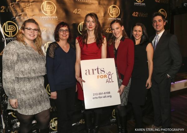 Photo Flash: Jennifer Holliday, Laura Benanti, Michael Cerveris, Rema Webb & More Support Arts-For-All