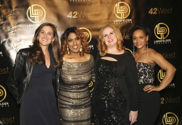 Jill Bernard, Jennifer Holliday, Julie James and Rema Webb