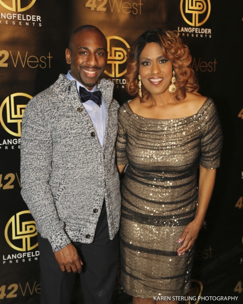 Photo Flash: Jennifer Holliday, Laura Benanti, Michael Cerveris, Rema Webb & More Support Arts-For-All