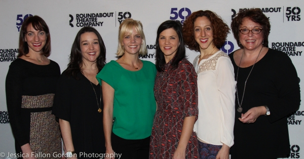 Laura Shoop, Cameron Adams, Jenifer Foote, Sara Edwards, Alison Cimmet and Gina Ferrall
