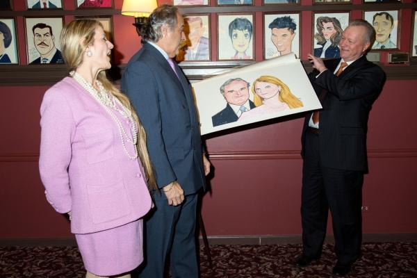 Photo Coverage: Producers Stewart F. Lane and Bonnie Comley Unveil Portrait at Sardi's!
