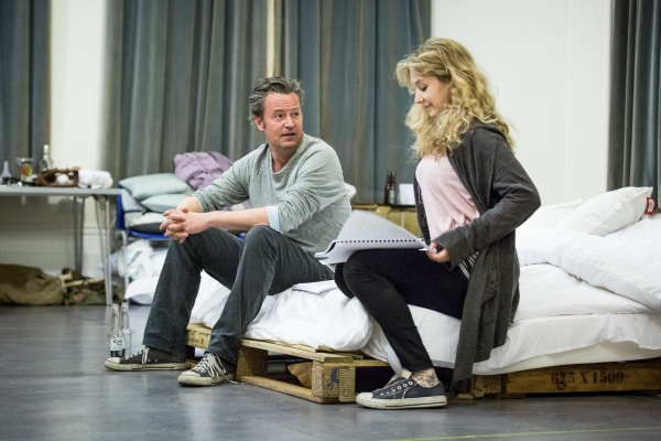 Photo Flash: Inside THE END OF LONGING Rehearsals with Matthew Perry, Jennifer Mudge & More
