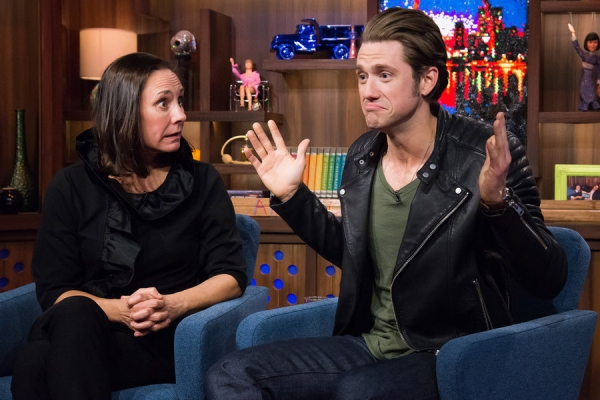 Photo Flash: Aaron Tveit, Laurie Metcalf Visit the Bravo Clubhouse