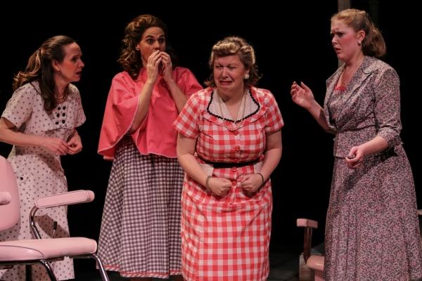 Ruby (Ellen Peters), Marcela (Neicie Packer), Omaha (Diana George), Jimmy Deeanne (Jill Heinecke)