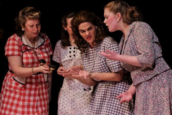 Omaha (Diana George), Ruby (Ellen Peters), Marcela (Neicie Packer), Jimmy Deeanne (Jill Heinecke)