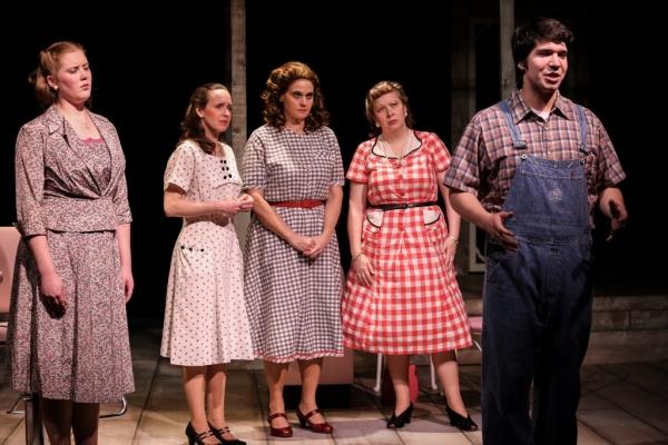 Jimmy Deeanne (Jill Heinecke), Ruby (Ellen Peters), Marcela (Neicie Packer), Omaha (Diana George), B Flat (Aaron Mohs-Hale)