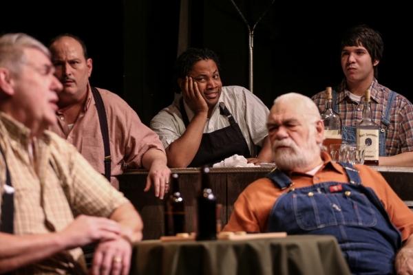 Mansel (Bob Yount), Frisky (Kerry Bringman), US (Jimmy Shields), Mr. Mozel (Tom Birke Photo