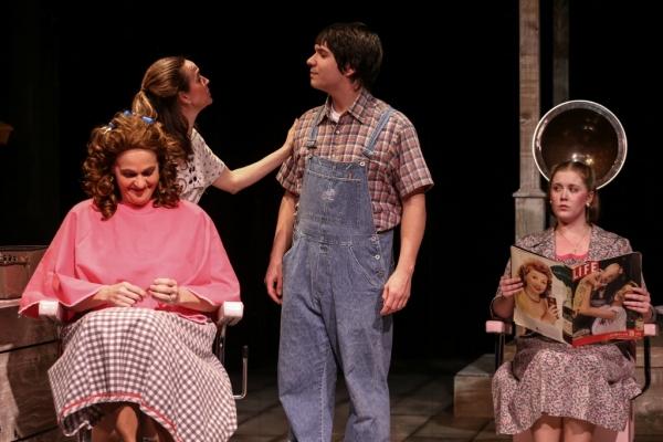 Marcela (Neicie Packer), Ruby (Ellen Peters), B Flat (Aaron Mohs-Hale), Jimmy Deeanne (Jill Heinecke)