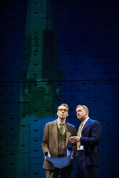 Photo Flash: First Look at World Premiere of SOME BRIGHTER DISTANCE at City Theatre