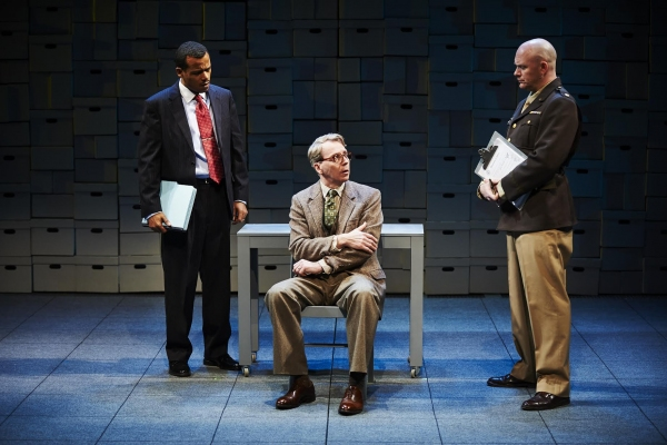 LeRoy McClain as Robert Davis, Jonathan Tindle as Arthur Rudolph, Matthew Stocke as Major Turner