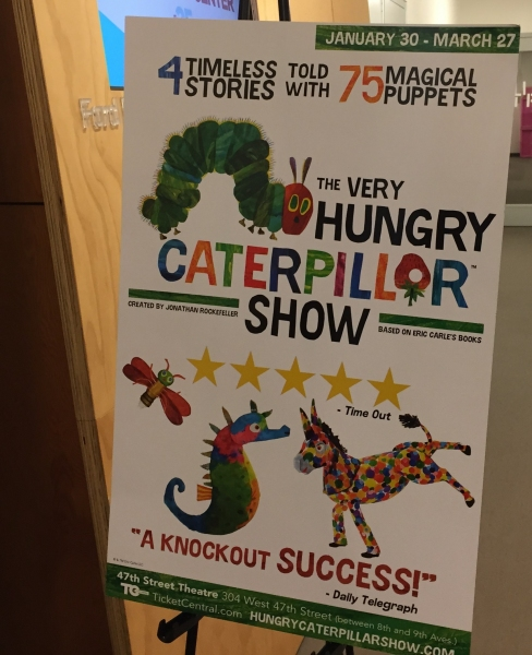 Photo Flash: Sneak Peek at THE VERY HUNGRY CATERPILLAR SHOW Off-Broadway