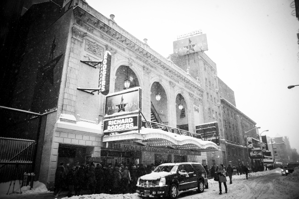 The Richard Rodgers Theatre, home of HAMILTON