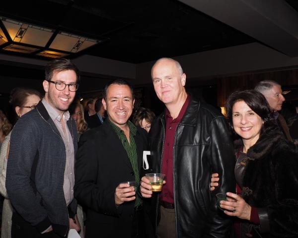 Steven Young, Steven Glaudini, John Glaudini, and Maria Cominis