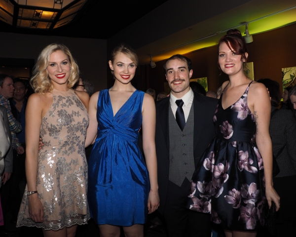 Stephanie Gibson, Charlotte Maltby, Cooper Stanton, and Katie McCoy
