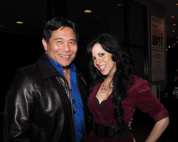 Glenn Shiroma and Heather Provost