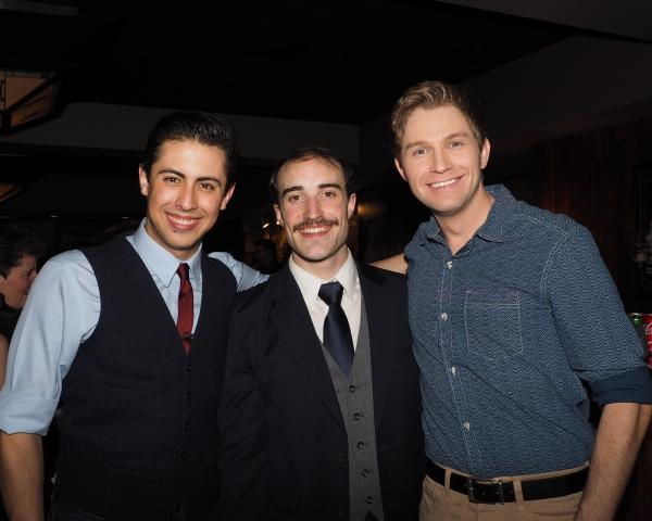 Gabriel Navarro, Cooper Stanton, and Caleb Shaw