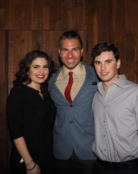 Caitlyn Calfas, Karl Warden, and Juan Caballer Photo