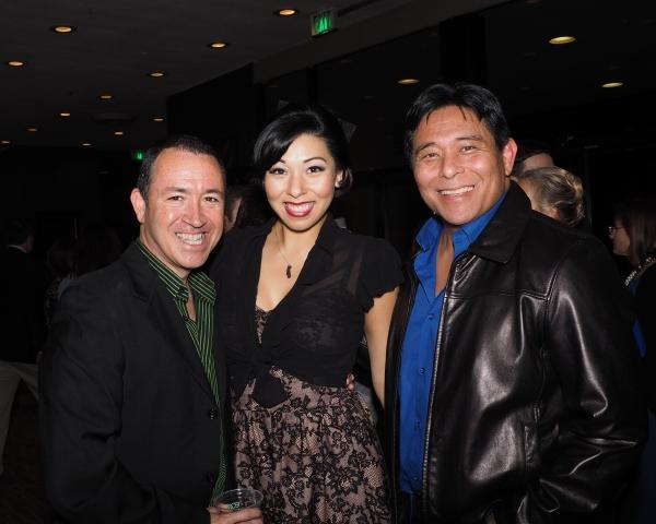 Steven Glaudini, Jenn Aedo, and Glenn Shiroma