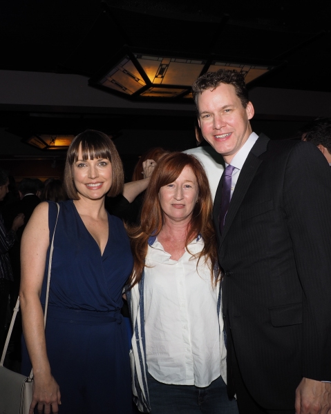 Julie Ann Emery, Vicki Lewis, and Kevin Earley