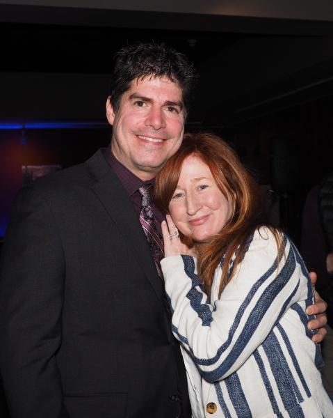 Paul Rubin and Vicki Lewis