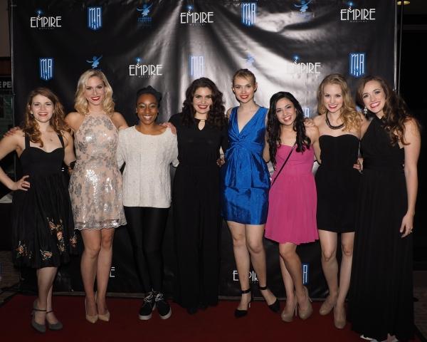 Katharine McDonough, Stephanie Gibson, Fatima El-Bashir, Caitlyn Calfas, Charlotte Maltby, Tory Freeth, Rachel King, and Christine Tucker