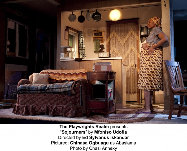 The Playwrights Realm presents�Sojourners� by Mfoniso UdofiaDirected by Ed Sylvanus IskandarChinasa Ogbuagu as Abasiama