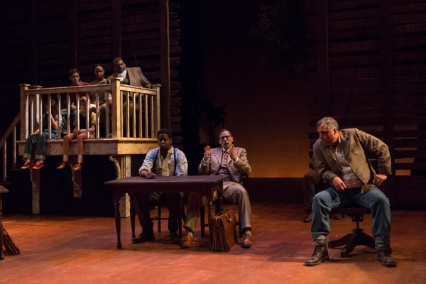 Photo Flash: First Look at Ryan Artzberger, Paula Hopkins, Tim Grimm & More in Indiana Repertory Theatre's TO KILL A MOCKINGBIRD