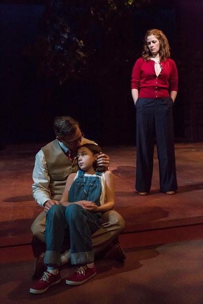 Ryan Artzberger, Paula Hopkins and Lauren Briggeman