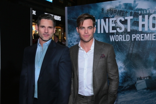 Eric Bana, Chris Pines