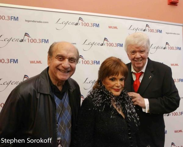 Dick Capri, Connie Francis, Dick Robinson