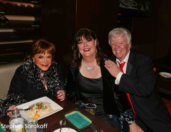 Connie Francis, Ann Hampton Callaway, Dick Robinson Photo