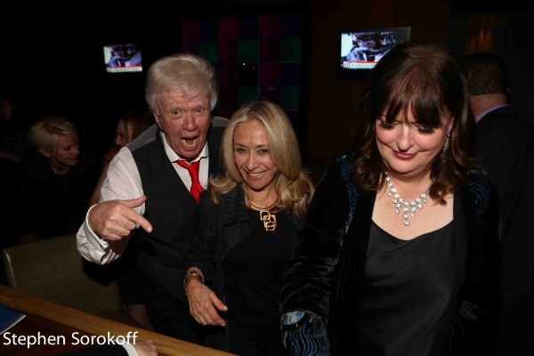 Dick Robinson, Eda Sorokoff, Ann Hampton Callaway