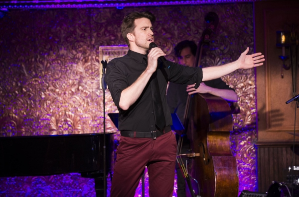 Photo Flash: Starry Cast of Broadway's SHE LOVES Performs Sneak Peek at Feinstein's/54 Below!