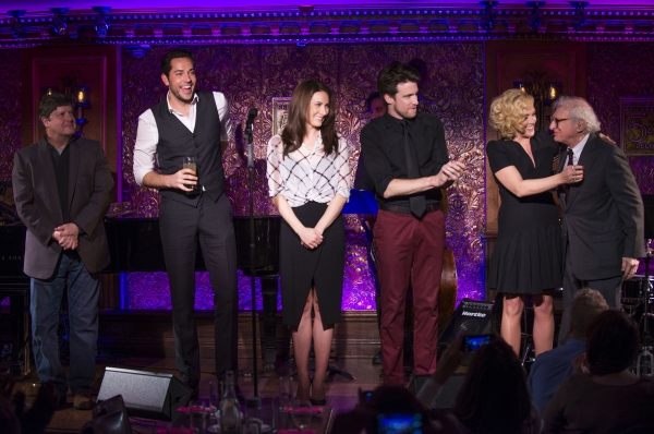 Michael McGrath, Zachary Levi, Laura Benanti, Gavin Creel, Jane Krakowski, Sheldon Harnick