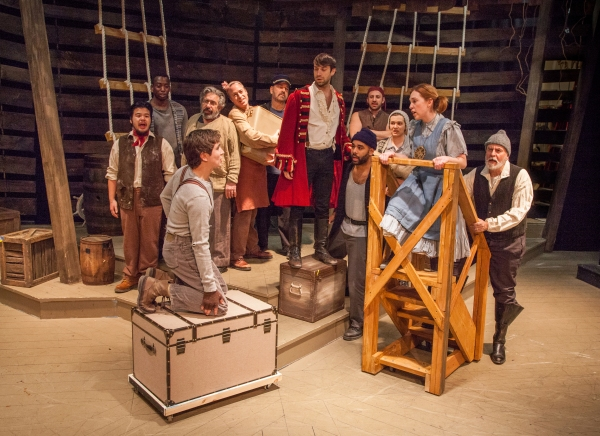 Photo Flash Peter And The Starcatcher At Kitchen Theatre Company