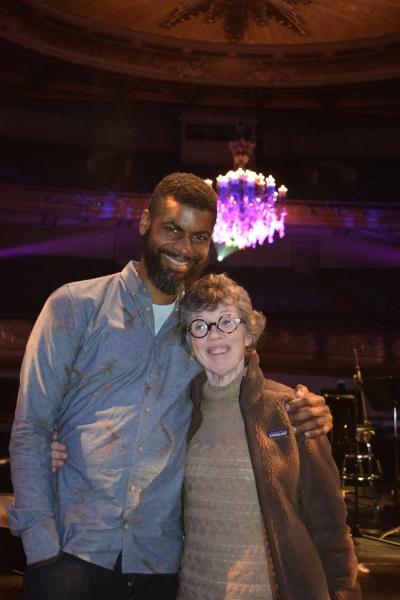 Niegel Smith, Carole Shorenstein Hays Photo