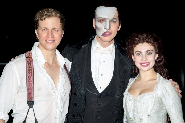 Photo Coverage: THE PHANTOM OF THE OPERA Celebrates a Whopping 28 Years on Broadway!