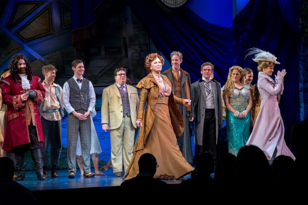 Carolee Carmello and the cast of FINDING NEVERLAND
