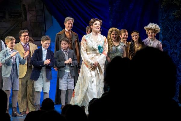 Laura Michelle Kelly and the cast of FINDING NEVERLAND