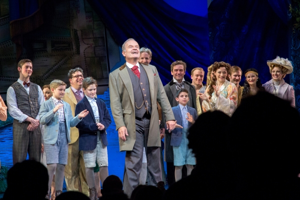 Photo Coverage: New 'J.M. Barrie' Tony Yazbeck Takes First Bows in FINDING NEVERLAND!