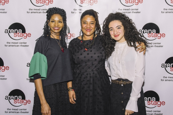 Jenny Jules, Lynn Nottage with Daughter