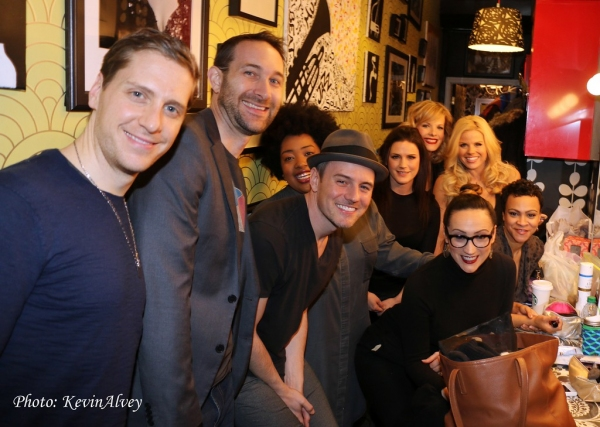Andy Kelso, Rob Bokicki, Celisse Henderson, Carrie Manolakos, Eden Espinosa, Carly Hughes, Megan Hilty, Sheila Coyle