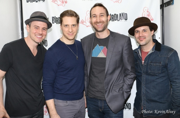 Brian Gallagher, Andy Kelso, Rob Rokicki, Matt Cusson Photo