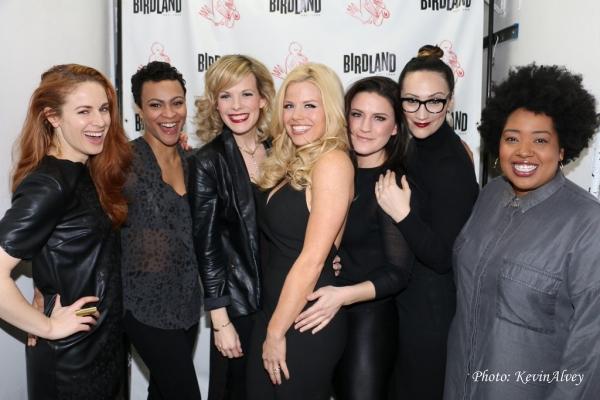 Teal Wicks, Carly Hughes, Sheila Coyle, Megan Hilty, Carrie Manolakos, Eden Espinosa, Celisse Henderson