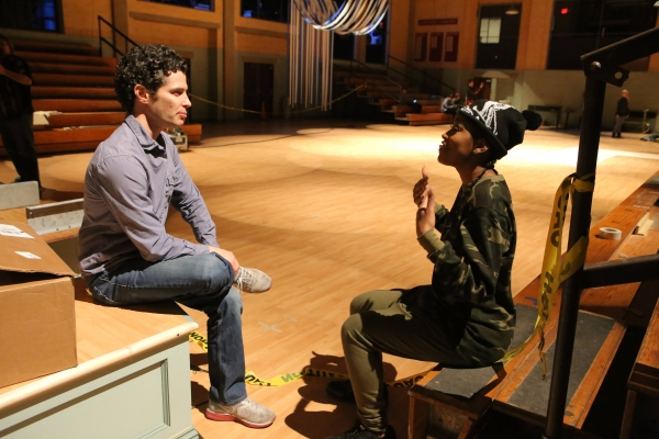 GREASE: LIVE: (L-R)Thomas Kail and Keke Palmer rehearse for GREASE: LIVE airing LIVE Sunday, Jan. 31, 2016 (7:00-10:00 PM ET live/PT tape-delayed), on FOX. Cr: Kevin Estrada/FOX