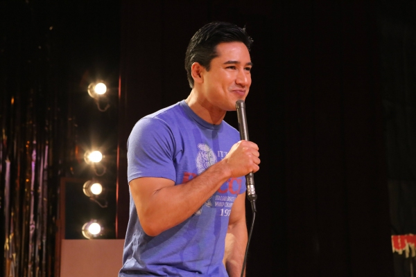 GREASE: LIVE: Mario Lopez rehearses for GREASE: LIVE airing LIVE Sunday, Jan. 31, 201 Photo